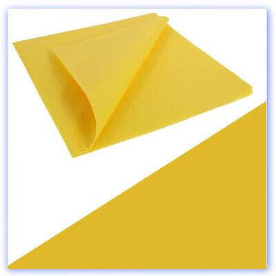 Lightweight Tissue Covering Trainer Yellow  50 X 76cm 5 Sheets (RB432224) • 7.99£