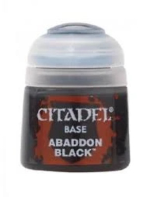 Abaddon Black Base Paint 12ml • 2.70£