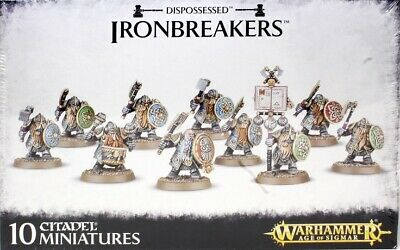 Dispossessed Irondrakes/Ironbreakers Warhammer Age Of Sigmar (D) • 30£