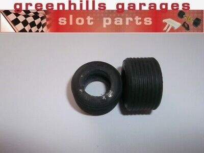 Greenhills Scalextric BRM P160 Tyre Pair Grooved - Used - P5558 ##x • 3.49£