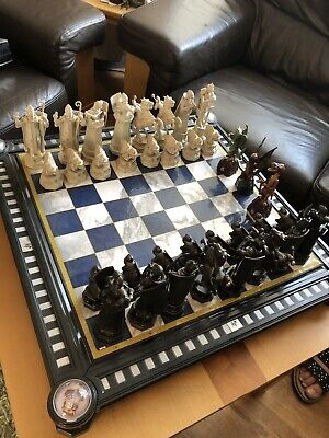 Harry Potter The Final Challenge Chess Set Noble Collection Chess Plus Extras • 320£