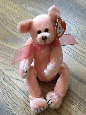 Ty Beanies - Attic Treasures Hayes Bear With Tag • 3£