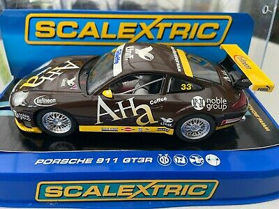 Scalextric C3084 Porsche 911 Gt3r Ah A Racing Sample New Boxed • 65£