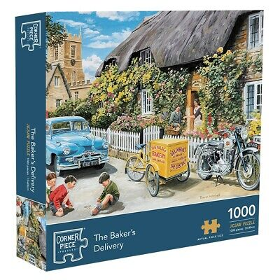 Bakers Delivery 1000 Piece Jigsaw Puzzle, Toys & Games, Brand New • 9£