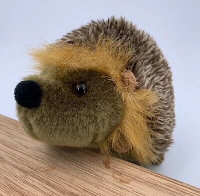 "Living Nature Hand Crafted Hedgehog 7"" Long Nice Quality • 6£"