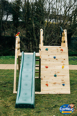 The Rocky's Climber 2: Children's Outdoor Playhouse Climbing Frame Play Frame • 499.99£
