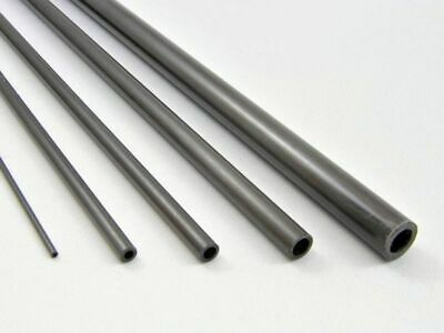 1000mm Lengths Pultruded Carbon Fibre Tubes: 2, 2.5, 3, 4, 5, 5.5, 6, 8,10,12mm • 10.75£