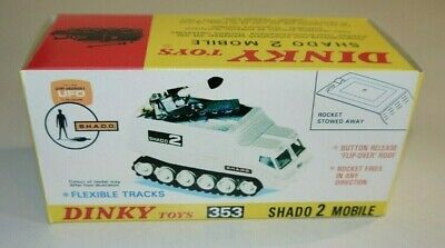 UFO SHADO 2 MOBILE DINKY TOYS 353 ( Reconditioned Model ) • 150£