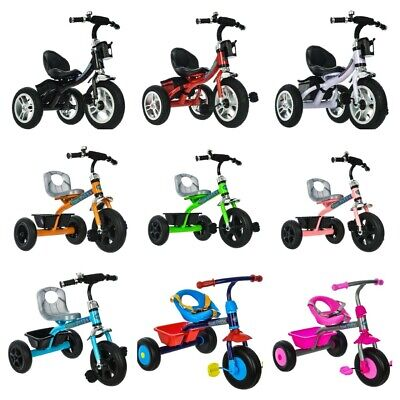 New 3 Wheel Baby Trike Tricycle Stroller Buggy Push Bike Children Child Toddler • 27.90£
