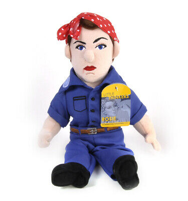 Rosie The Riveter Soft Toy - Little Thinkers Doll • 23.99£