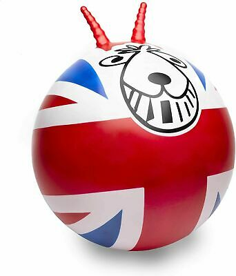 Space Hopper Retro Exercise Play Ball Funtime Union Jack • 10.99£