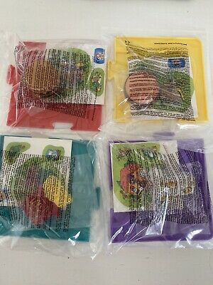 Mcdonalds Happy Meal Toys 1996 Tricky Trackers Bnip Full Set Of 4 • 10£