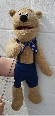 Bear Puppet Like Fozzy 26 Ventriloquist,Educational.Moving Mouth/arm  • 36£