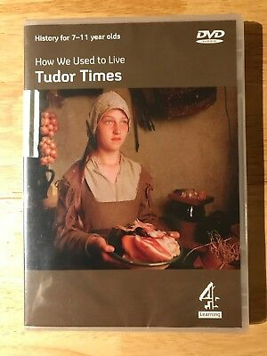 How We Used To Live In Tudor Times • DVD • Age: 7-11yrs • 9.99£
