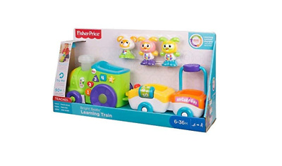 Fisher-Price FWF92 Bright Beats Learning Train & Figures, Baby & Toddler Playset • 27.99£