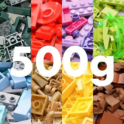 Lego Bricks & Pieces Choose Any Colour Brown Green Blue Pink Black 500g Weight • 8.50£