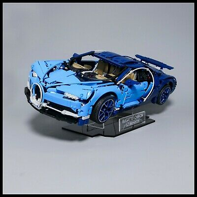 Bugatti Chiron Acrylic Display Stand For Lego Technic Model 42083 • 26.99£