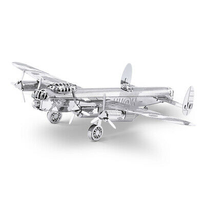Classics Lancaster Bomber Metal Earth 3D Laser Cut Metal Puzzle By Fascinations • 5.80£