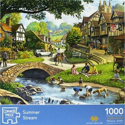 Summer Stream 1000 Piece Jigsaw Puzzle, Toys & Games, Brand New • 9£