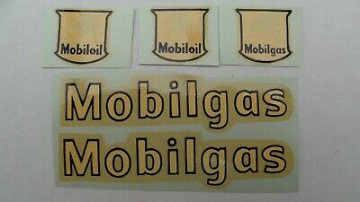 Dinky 941 Foden Mobilgas Decals. Repro Waterslide Transfers. • 3£