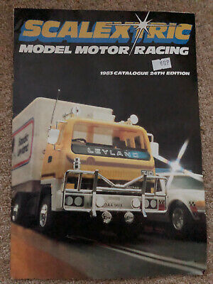 VIntage Scalextric Catalogue 24th Edition 1983 VGC • 5£