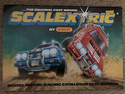 VIntage Scalextric Catalogue 25th Edition 1983 VGC • 7£