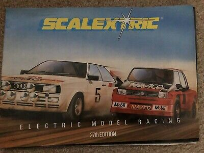 VIntage Scalextric Catalogue 27th Edition 1986 VGC • 5£