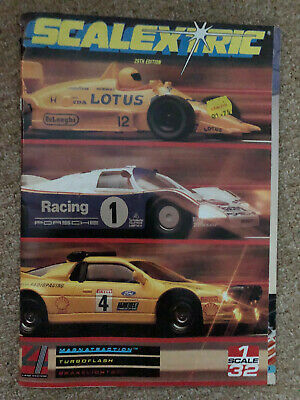 VIntage Scalextric Catalogue 29th Edition 1988 VGC • 5£