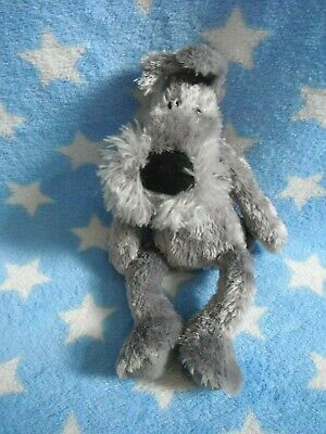 Jellycat Small Grey Schnauzer Dog / Puppy     Soft Toy    Approx 9  High  • 9.99£