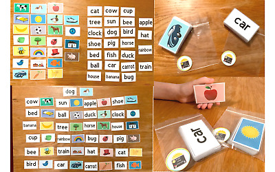 50 First Words Pictures Flash Cards Learning To Read Early Learning Resource Sen • 5.99£
