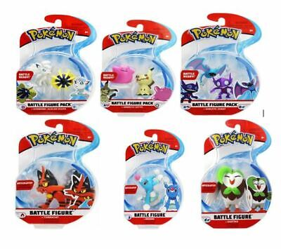 Pokemon Battle Figure Packs (2 And 3 Inch) New Sealed Choose Your Favourite • 9.75£
