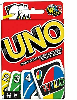 UNO Card Game 112 CARDS Great Family Fun Party Game UK Seller FAST DELIVERY  • 3.59£