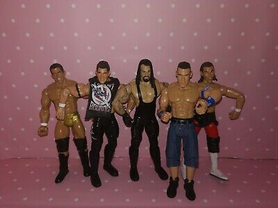 WWE Wrestling Figures Inc. The Undertaker & John Cena Ruthless Aggression Wwf • 17.99£