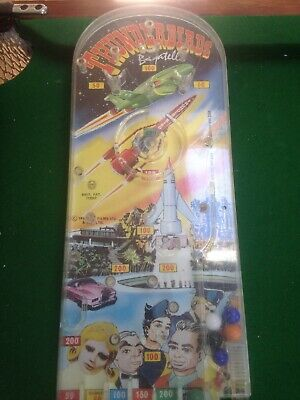 Thunderbirds Pinball Bagatelle Game 1966 Louis Marx Great Condition • 47£