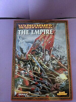 Games Workshop, Warhammer, The Empire: Army Book, 7th Edition (2006), OOP • 9.99£