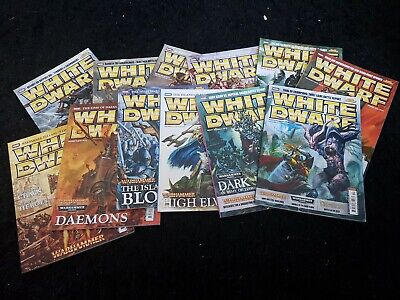 White Dwarf 2010 12 Mags 361 362 363 364 365 366 367 368 369 370 371 372 Monthly • 55£