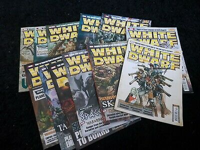 White Dwarf 2009 12 Mags 349 350 351 352 353 354 355 356 357 358 359 360 Monthly • 55£