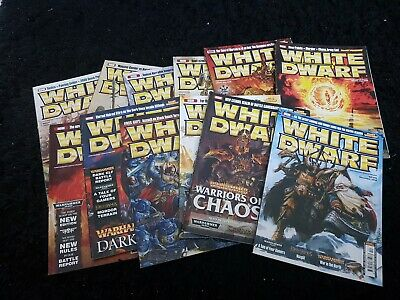 White Dwarf 2008 12 Mags 385 386 387 388 389 390 391 392 393 394 395 396 Monthly • 55£