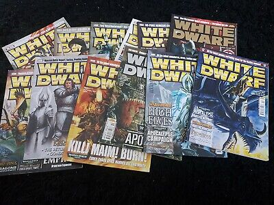 White Dwarf 2007 12 Mags 325 326 327 328 329 330 331 332 333 334 335 336 Monthly • 55£