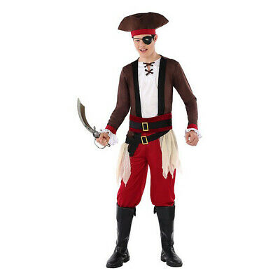 Costume For Children 116238 Pirate (Size 14-16 Years) • 23.46£
