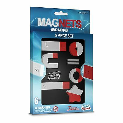 Magnets & More (8pcs Magnet Set) Science Discovery Toy Gift Novelty Childs Kids • 4.99£