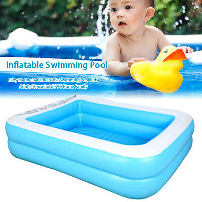 Large Family Swimming Pool Garden Outdoor Summer Inflatable Kids Paddling Pools • 37.79£