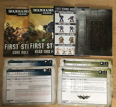Warhammer 40k First Strike • 7.95£