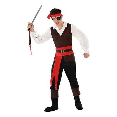 Costume For Children 116214 Pirate (Size 14-16 Years) • 20.85£