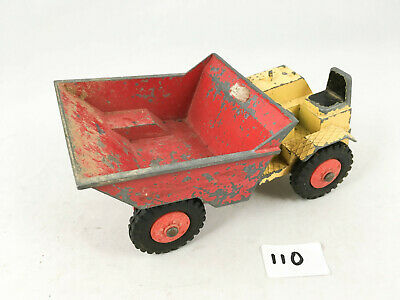 Rare Large Scale Vintage Triang Thwaites Swivel Dumper Diecast Construction Toy • 24.99£