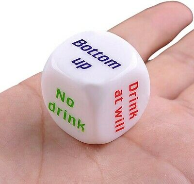 Drinking Game Dice Adult Hen Stag Do Novelty Birthday Party Cocktail • 2.48£