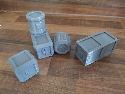 28mm Sci Fi Containers • 25£
