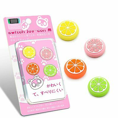 Silicone Sweet Fruits Joystick Thumb Grip Caps For Switch & Switch Lite Joy-Con • 3.07£