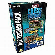 Marvel Crisis Protocol NYC Terrain Pack New And Sealed • 38.99£