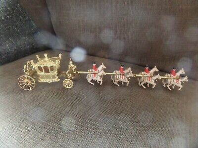 Vintage Crescent The Royal State Coach 1977 The Queens Silver Jubilee • 15£